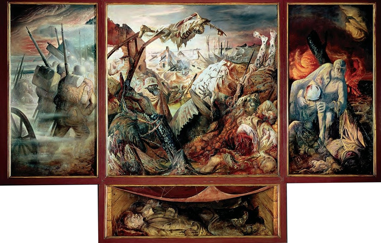 hda m thode comment pr senter le tableau d otto dix la guerre le sith de monsieur willecocq. Black Bedroom Furniture Sets. Home Design Ideas
